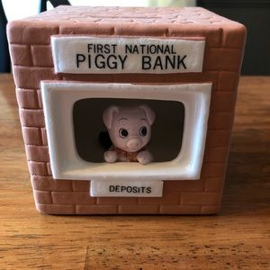 First National Piggy Bank